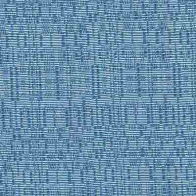 French Blue Banjo Fabric