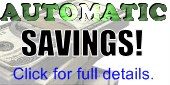 Automatic Discounts on Pipe and Drape! Click for full details and exclusions.