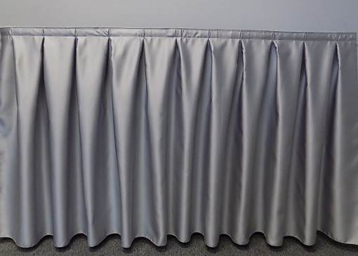 14 Foot Poly Satin Table Skirt