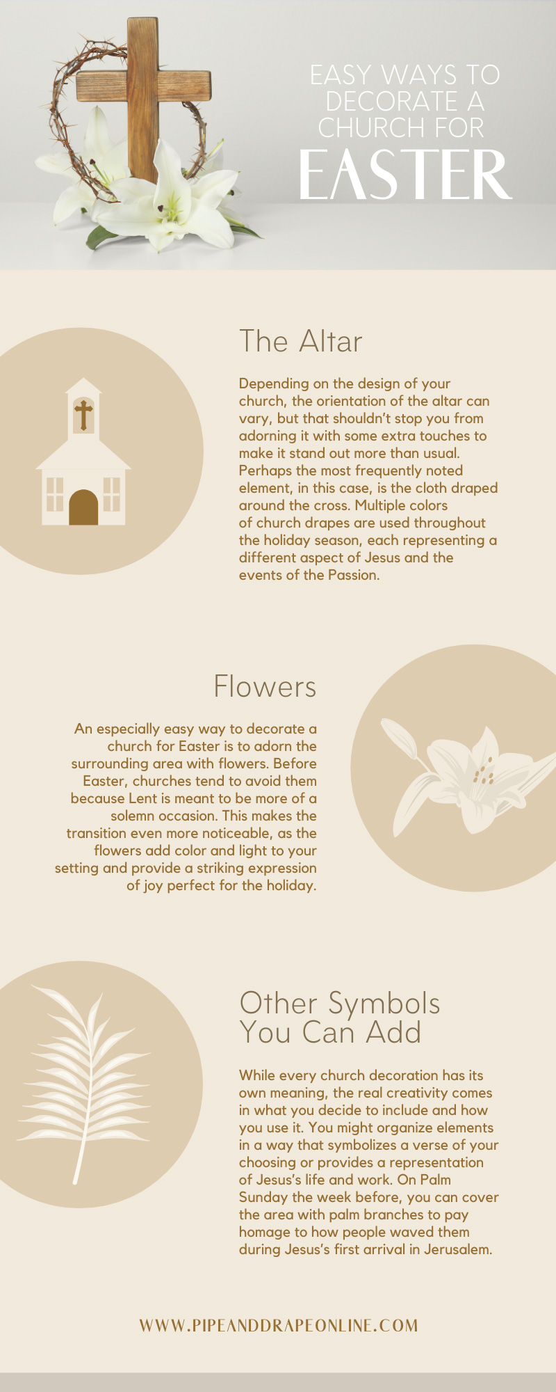 Easy Ways to Decorate a Church for Easter