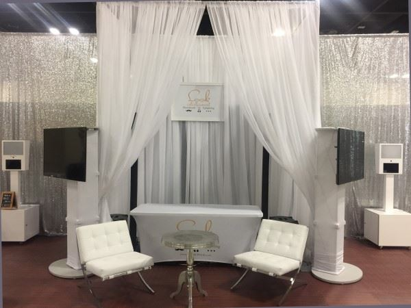 Pipe & Drape Backdrop with Sheer Voile drapes