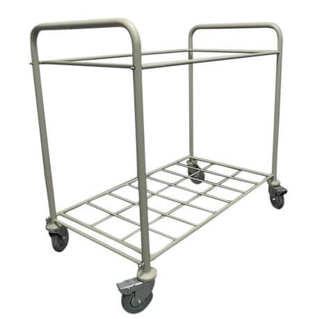 Drape Hamper Cart Assembled