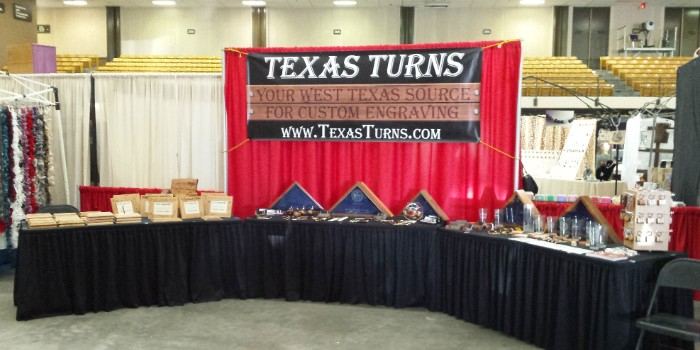 Convention table linens, including table skirting and table throws, help put the finishing touches on your exhibit space.