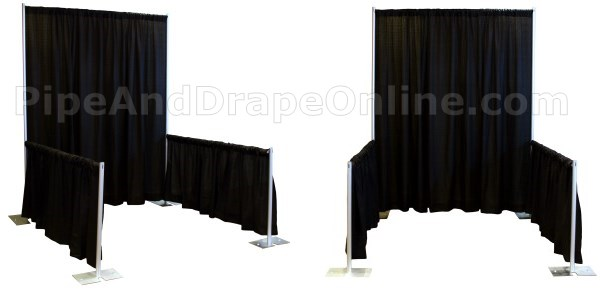Professional Pipe and Drape Trade Show Booths