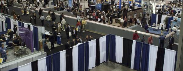 Pipe and Drape Trade Show Booths