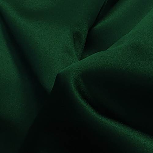 Hunter Green Poly Satin