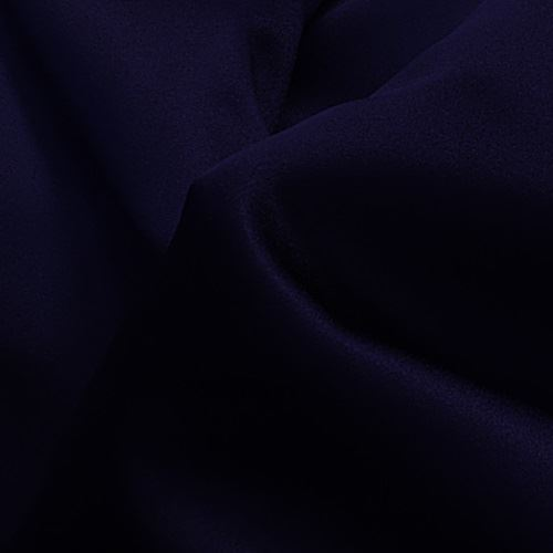 Navy Blue Poly Satin
