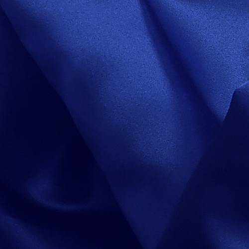 Royal Blue Poly Satin