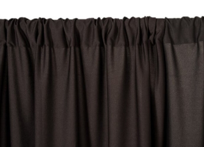 online com dp pipe fabric black x kit backdrop in drapes amazon l drape premier and