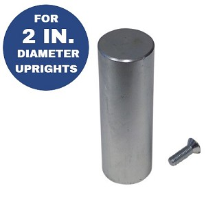 "6"" High x 2"" Diameter Base Pin"