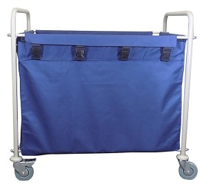 Economy Drape Hamper Cart