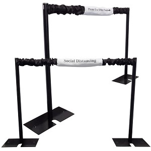Social Distancing Stanchion Divider Kit - Choose Your Width