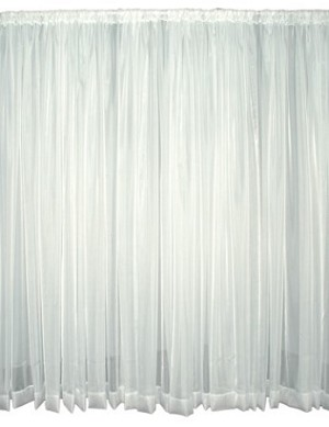 18 Foot Tall Sheer Voile Drape