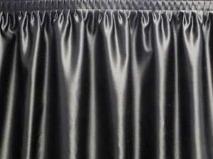 21 Foot Poly Satin Table Skirt