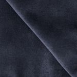 CLEARANCE SECOND RUNS: 6 Foot Tall 21 oz Velour Drape (Black)