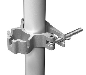 Universal Drape Support Crossbar Clamp